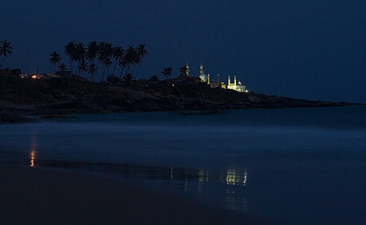 Mosque-at-twilight-Kovalam